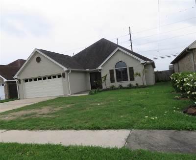 Port Neches Single Family Home For Sale: 521 Lexington Drive