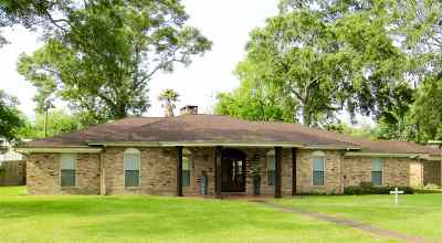 Port Neches Single Family Home For Sale: 1409 Droddy