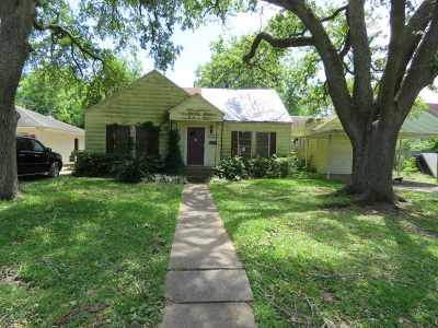 Port Arthur Single Family Home For Sale: 2021 13th Ave