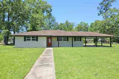 Beaumont TX Single Family Home For Sale: $165,000