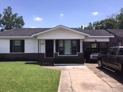 Beaumont TX Single Family Home For Sale: $64,500
