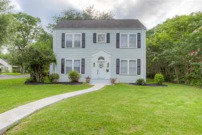 Port Arthur Single Family Home For Sale: 4501 Evergreen