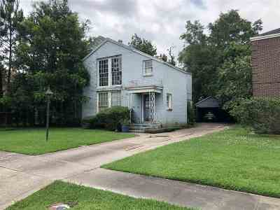 Beaumont TX Single Family Home For Sale: $70,400