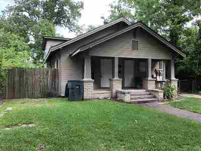 Beaumont TX Single Family Home For Sale: $68,200