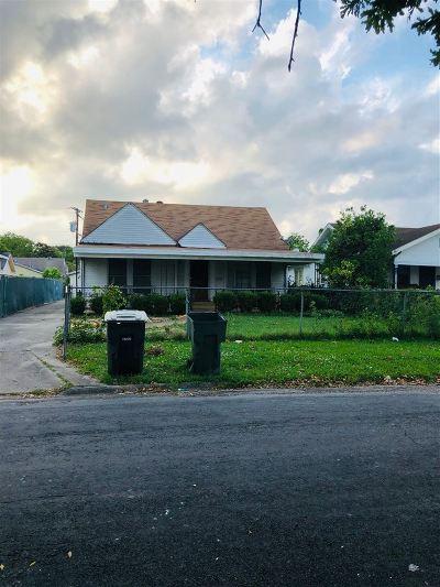 Port Arthur Single Family Home For Sale: 3607 9th St