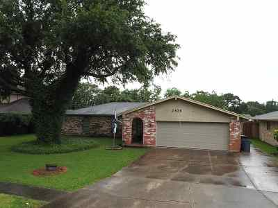 Port Neches Single Family Home Pending Take Backups: 2826 Round Tower