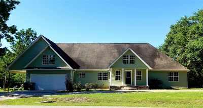 Lumberton Single Family Home For Sale: 9012 Cooks Lake Rd