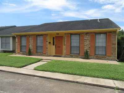Beaumont TX Condo/Townhouse For Sale: $144,900