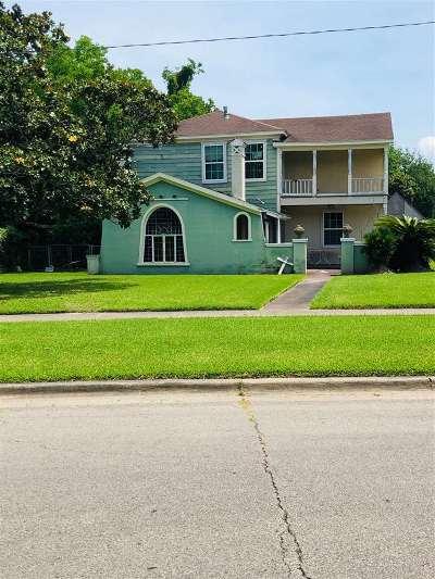 Port Arthur Single Family Home For Sale: 300 Dixie