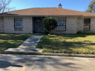 Port Arthur Single Family Home For Sale: 3811 Turtle Creek