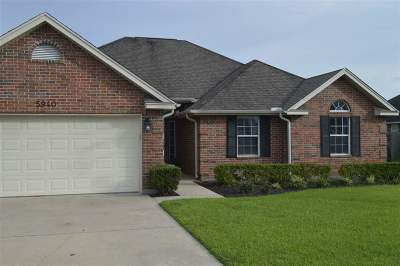 Lumberton Single Family Home For Sale: 5940 Westchase Loop