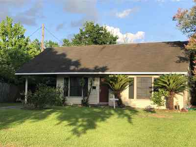 Port Neches Single Family Home For Sale: 2213 6th St.