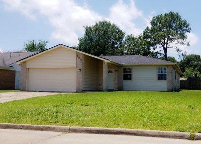 Port Arthur Single Family Home For Sale: 8511 Lynwood