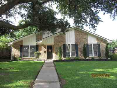 Beaumont TX Single Family Home For Sale: $174,900