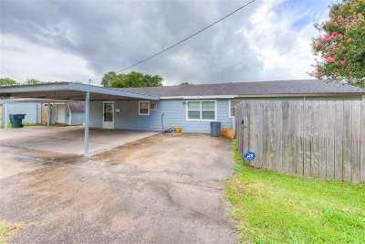 Port Arthur Single Family Home For Sale: 3215 7th Avenue