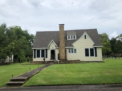 Port Arthur Single Family Home For Sale: 2400 Evergreen