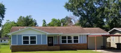 Beaumont TX Single Family Home For Sale: $125,000