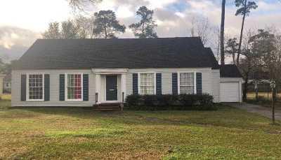 Beaumont Single Family Home For Sale: 2525 Louisiana Street