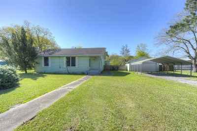 Port Arthur Single Family Home For Sale: 2400 63rd St