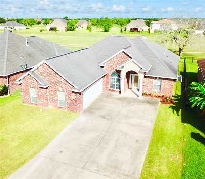 Port Arthur Single Family Home For Sale: 3945 Lake Arthur Dr