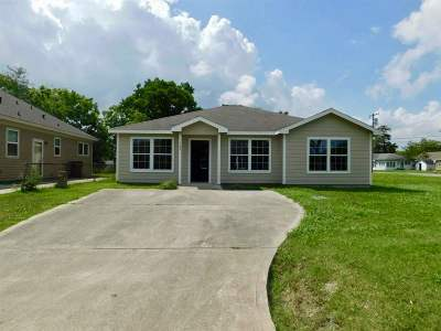 Port Arthur Single Family Home For Sale: 1143 Thomas Blvd
