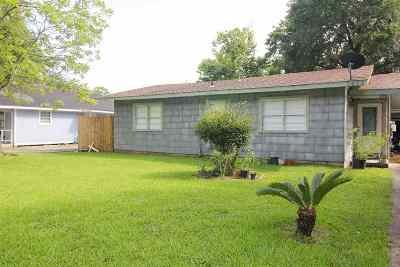 Port Arthur Single Family Home For Sale: 3435 Woodrow