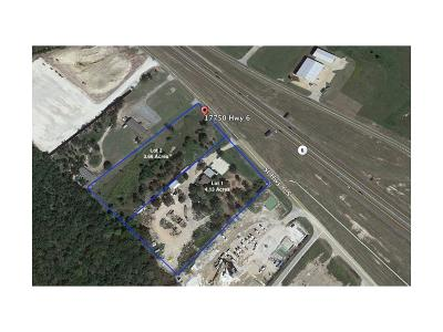 Bryan , College Station  Residential Lots & Land For Sale: 17750 Sh-6 S Tx