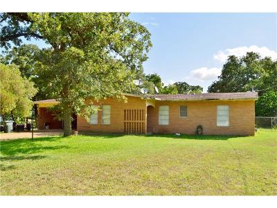 Bryan , College Station Single Family Home For Sale: 4305 Woody Lane