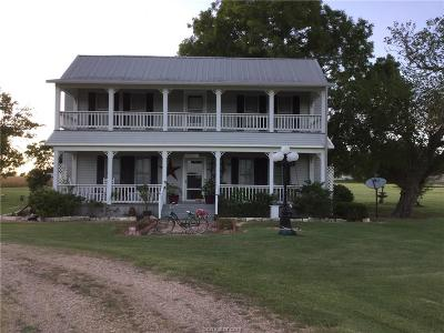 Milam County Single Family Home For Sale: 482 County Road 133 County Road