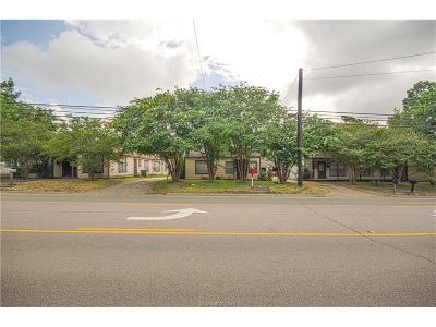 Brazos County Multi Family Home For Sale: 906 East 29th Street