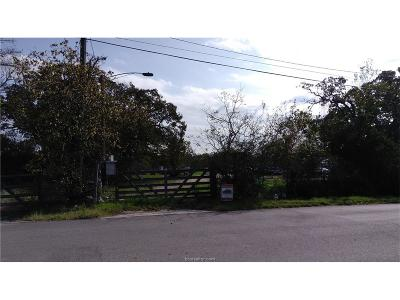 College Station Residential Lots & Land For Sale: 3001 Barron Cut-Off Rd Road
