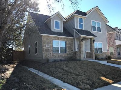 Bryan , College Station Single Family Home For Sale: 107 Ehlinger Drive