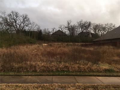 Bryan Residential Lots & Land For Sale: 3218 Walnut Creek Court