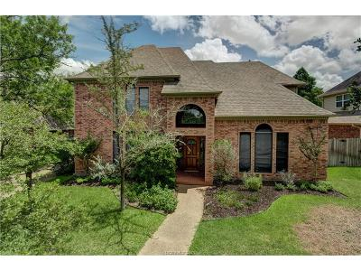 College Station Single Family Home For Sale: 9203 Waterford Drive
