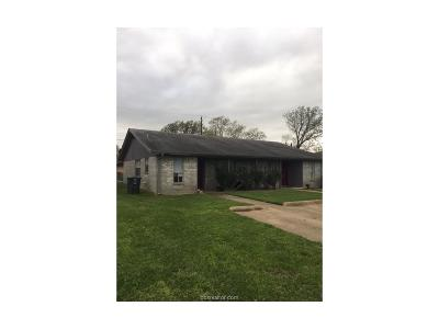 Brazos County Multi Family Home For Sale: 3500 Leon Street