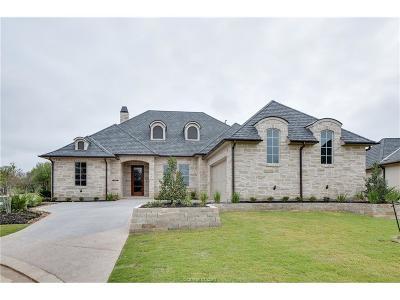 Bryan , College Stat Single Family Home For Sale: 5024 Portofino Drive