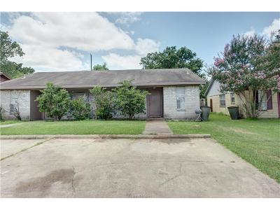 Bryan , College Station Multi Family Home For Sale: 3408 Leon Street