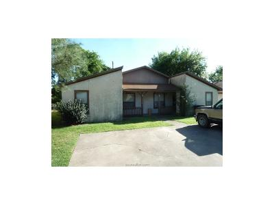 Brazos County Multi Family Home For Sale: 1518 Pine Ridge Drive #A-B