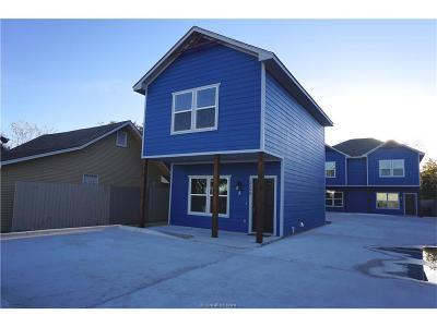 Brazos County Multi Family Home For Sale: 2108 Cavitt
