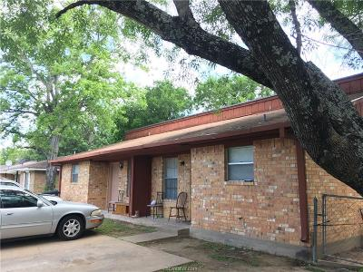 Brazos County Multi Family Home For Sale: 1229 Georgia Street
