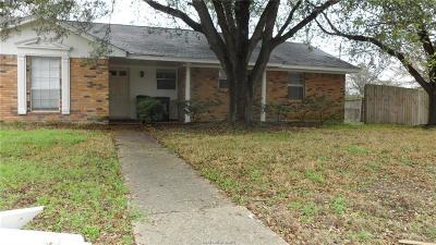 Brazos County Single Family Home For Sale: 1011 Glade Street