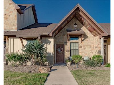 College Station Condo/Townhouse For Sale: 3339 Lieutenant