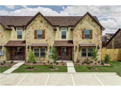 Bryan  , College Station Condo/Townhouse For Sale: 3303 Wakewell