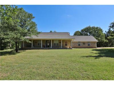 Bryan Single Family Home For Sale: 6850 Strickland Lane
