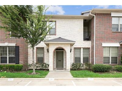 College Station TX Condo/Townhouse For Sale: $184,900