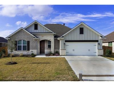 Bryan Single Family Home For Sale: 3009 Embers Loop
