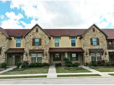 Bryan  , College Station Condo/Townhouse For Sale: 3305 Airborne Avenue