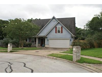 Bryan , College Station  Single Family Home For Sale: 2800 Muirwood Court