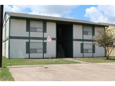 Brazos County Multi Family Home For Sale: 806 Natalie Street #A-D