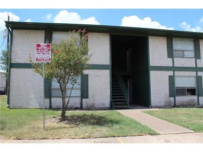 Brazos County Multi Family Home For Sale: 808 Natalie Street #A-D